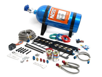 02119NOS Systemax Big Shot: Nitrous System 5.0L Engine With Bottle