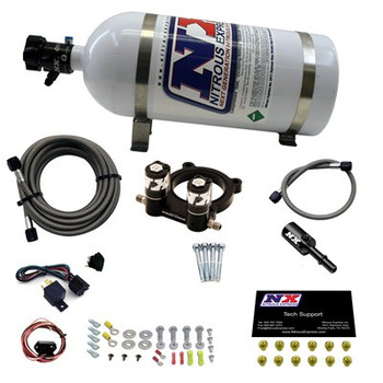 20954-10 Nitrous Express Ford 2.3L Ecoboost Plate System W/10lb Bottle