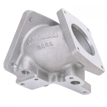 3835 Edelbrock 70mm Throttle Body Adapter 94-95 Mustang - Silver