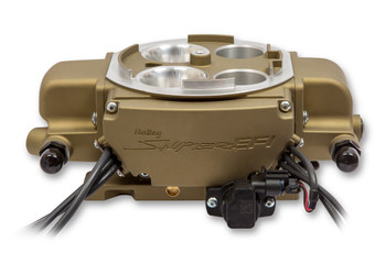 550-869 Holley Sniper EFI Quadrajet, Gold