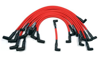 C9057RD 1986-95 Mustang Livewires Spark Plug Wire Set Red 5.0