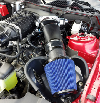 N-MC10-1 PMAS Air Intake System For 2011-2014 GT500/ Supercharged Mustang GT, 5.4/5.8L Tune Required