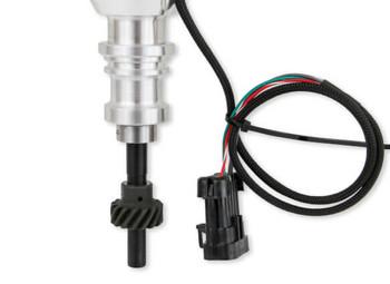 565-211 Holley EFI Ford 5.0L Dual Sync Dsitributor Low Profile