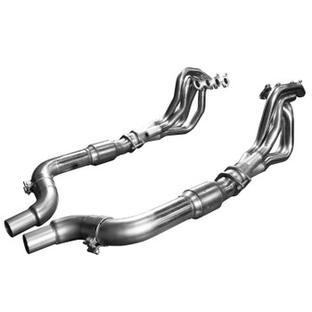 "Kooks 2015 + Mustang GT 5.0L 1 3/4"" x 3"" Stainless Steel Long Tube Header w/ Catted Connection Pipe"
