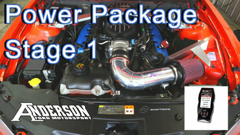 Anderson 11-14 NA Mustang GT Power Pipe® Power Package Stage 1 with Custom Tune