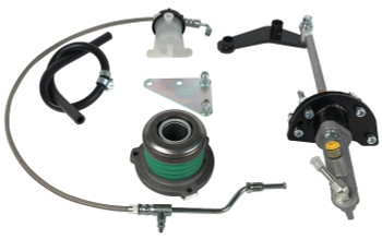 Silver Sport Transmissions Hydraulic Clutch Conversion Kit 86-04