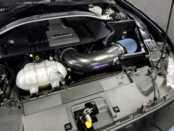 Anderson-Finishline Composites Carbon Fiber Cold Air Intake Kit 18-21 Mustang GT (Tune Required)