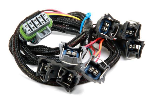 Holley EFI Ford V8 Injector Harness for HP EFI & Dominator EFI, 558-209