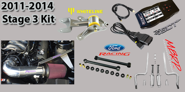 2011 - 2014 Mustang GT Stage 3 Performance Enhancement Package