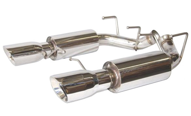12137FLT Flowtech 304SS Axle-Back Exhaust Kit For 2011 - 2014 Mustang GT and Boss 302