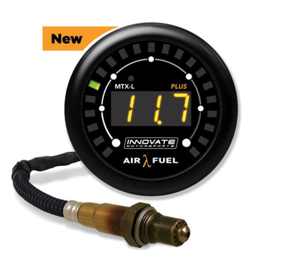 3918 Innovate MTX-L PLUS: Digital Wideband Air/Fuel Ratio Gauge Kit (8 Ft.)