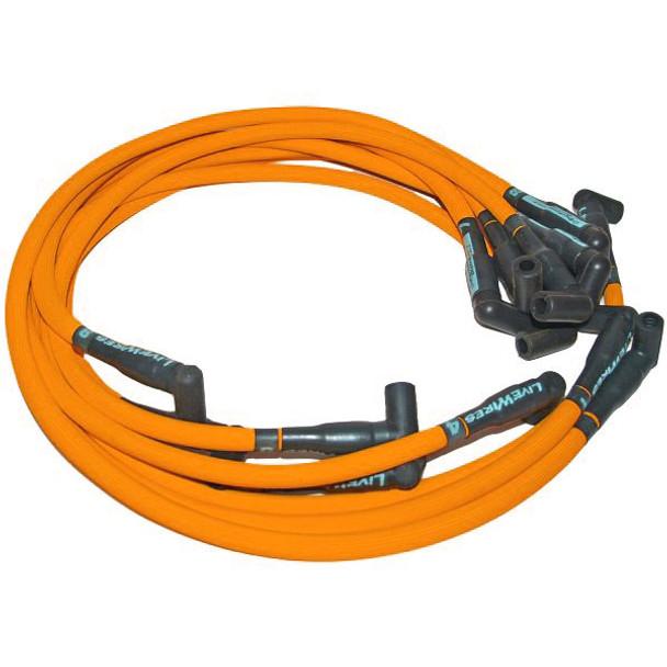 C9059OR 1986-95 Mustang Livewires Spark Plug Wire Set Orange, 351W on