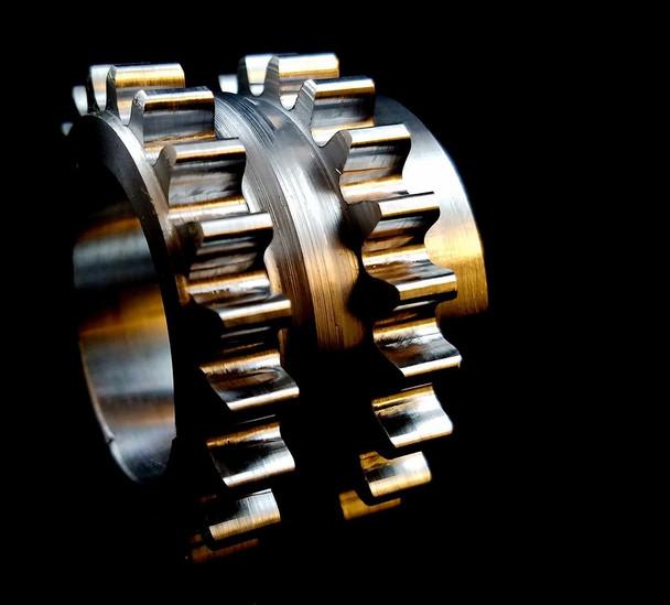 Boundary Hardened Crankshaft Gear Sprocket For 2015 - 2019 Coyote 5.0 & GT350 5.2 Engine