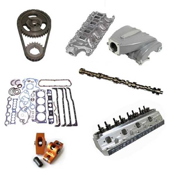 Anderson 6700 RPM 331/347 Natural Aspirated Top End Kit for 1987 - 1995 5.0 Mustang