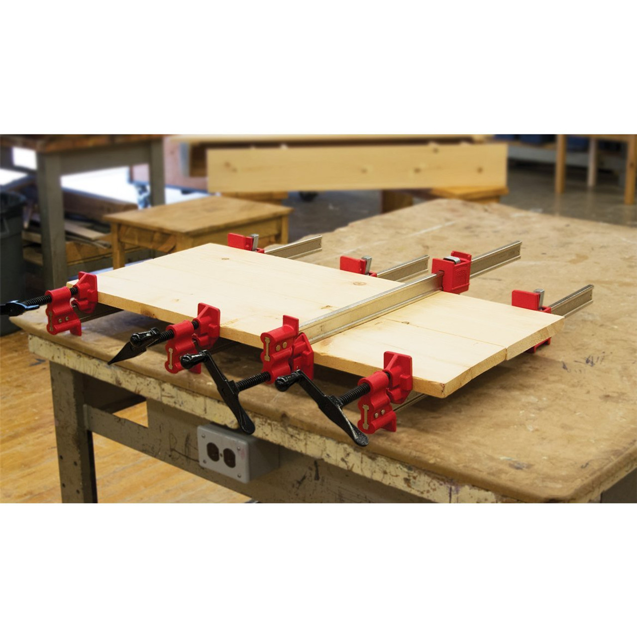 Bessey 96 Heavy Duty I Beam Bar Clamp For Woodworking Vmtw L L C