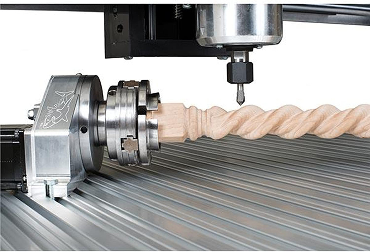 Next Wave 20010 large 4th Axis Kit for CNC Router make spindles pens game pieces