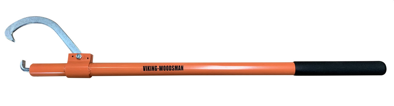 VMTW Viking Woodsman Aluminum Handle Cant Hook Heat Treated for Strength