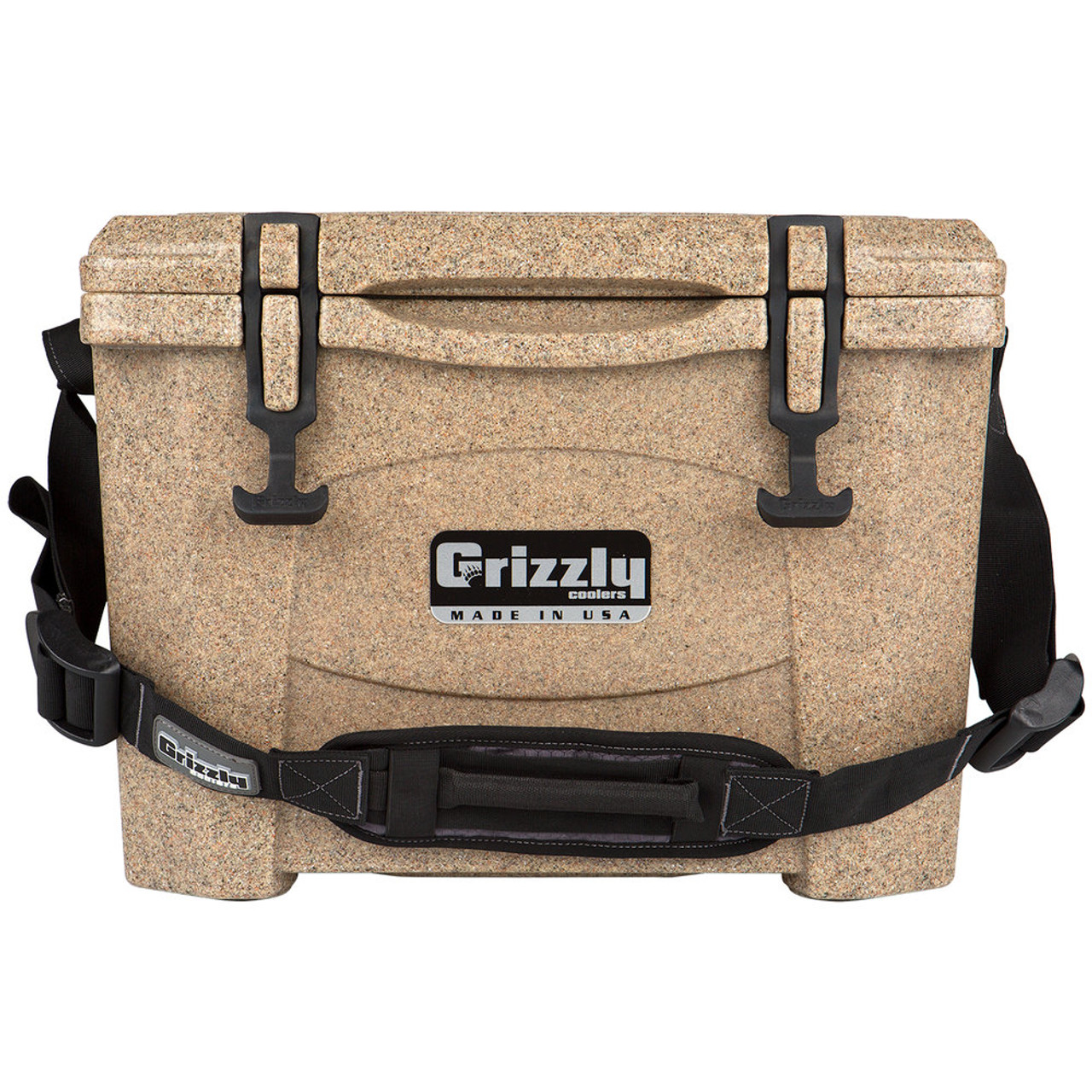 Grizzly Coolers 15 Quart Rotomolded Cooler, Sandstone