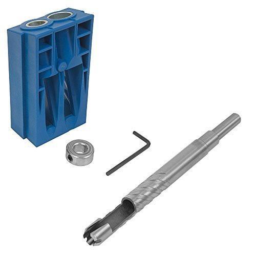 Kreg Custom Plug Cutter and Drill Bits Bundle