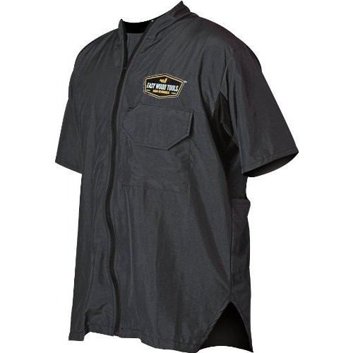 Easy Wood Tools 8100 Cool Smock in Charcoal. Unisex Small. Perfect accessory ...
