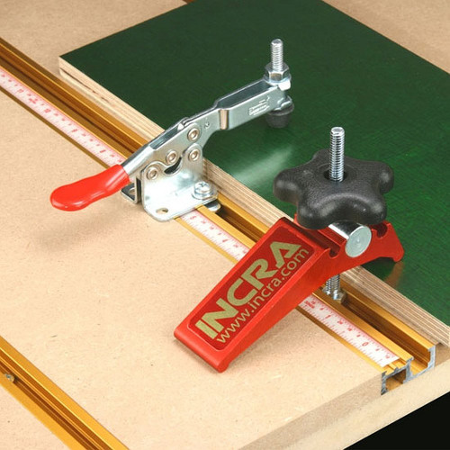 "INCRA Build-It System 18"" T-Track PLUS with Sliding Scale for Jigs & Fixtures"
