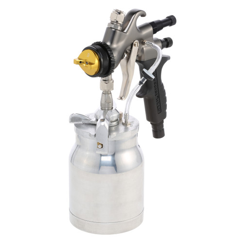 Apollo Sprayers HVLP Precision-6 240V Turbine Paint Spray System, 7700QT Spray Gun & 37' Hose