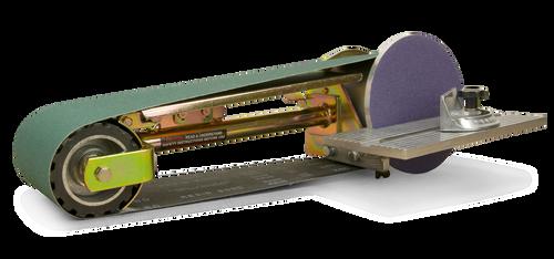 Multi Tool 4x48'' Belt Grinder Attachment, Mitre Table, Metal Belt & Disc Kit