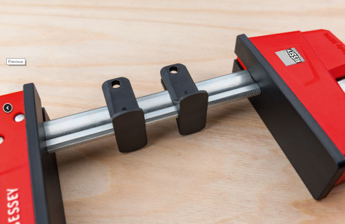 "BESSEY KRE3540 PAIR 40"" K Body REVO Parallel Bar Clamp w/ Hex Key Clamping"