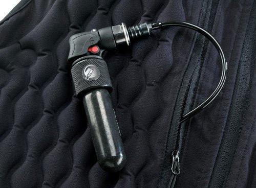 N-Ferno 6900 Argon Warming Vest with NobleTek Insulation, 2 X-LARGE, Black