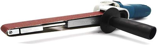 Manpa MP21-14 Belt Sander 5/8-11TPI + 10ea 40 grit belts for Angle Grinder
