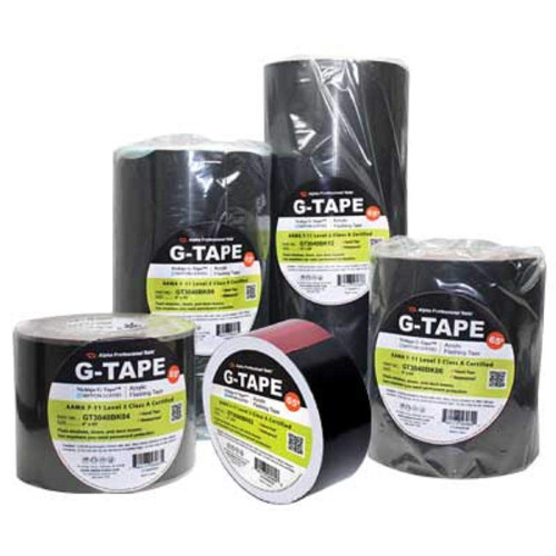 Water Proof Acrylic Flashing G-Tape 12 inch x 65 ft for windows deck beams doors