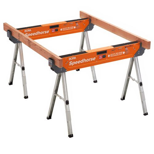 BORA PORTAMATE Speedhorse Saw Horse Work Bench support System for Woodworkers