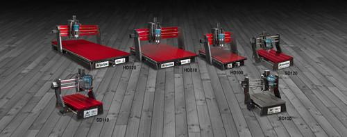 Next Wave SHARK II HD500 CNC +VCarve desktop design + Ready2Control software