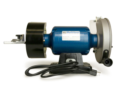 "8"" Multitool Grinder 1HP 120V, MT362 2x36, Mitre Table, Metal Belt & Disc Kit"