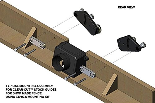 Jessem 04216 Shop Made Fence Mounting Kit for Clear-Cut Stock Guides