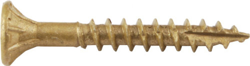 Screw Products, Inc. BTX-08114-1 Bronze Star Exterior Use Star Drive Screws
