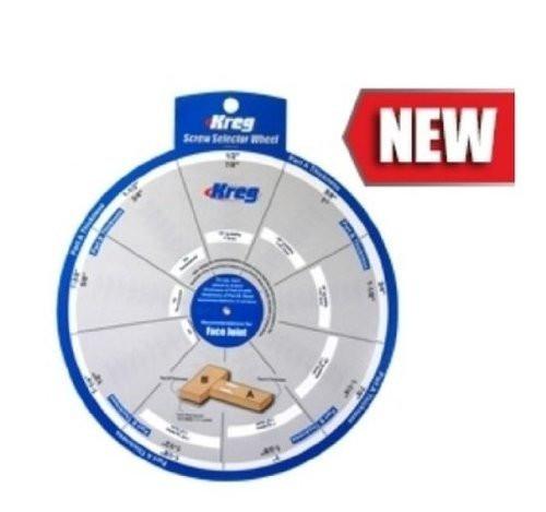 KREG SSW Pocket Hole Jig Screw Selector Wheel. Woodworking K4 K5