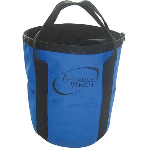 Portable Winch PCA-1255 Rope Bag - Handles & 164ft. x 1/2in. Rope Capacity