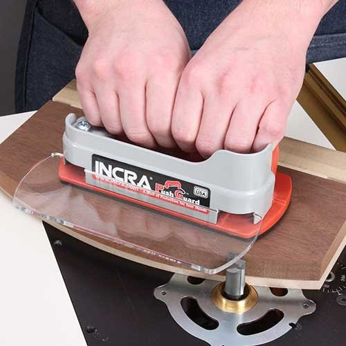 INCRA PushGuard Push Block / Hand Guard for Woodworking Table Saw Safety - 2-Pk