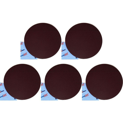"""Full Circle Int'l 5-pack Level 360 8-3/4"""" round sanding discs 150 Grit (SD150-5)"""
