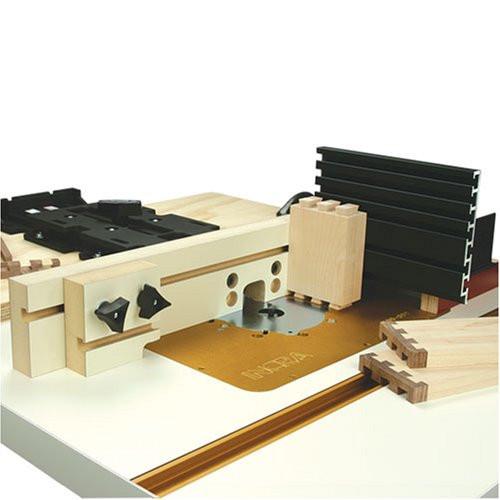 INCRA Original Jig Fence System with MDF Fence and Shop Stop