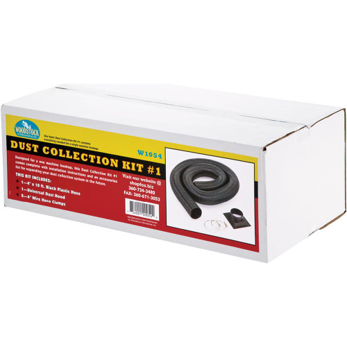 Woodstock International W1054 Dust Collection Kit-1