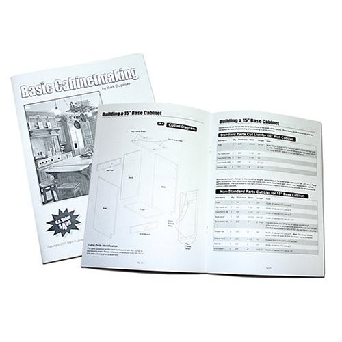 Kreg Tool Company MD-CAB01 Cabinetmaking Booklet