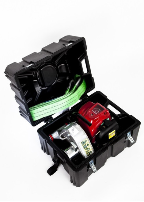 Portable Winch PCW3000 Portable Gas-Powered Capstan Winch & Carry Case