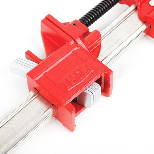"BESSEY 24"" Heavy-Duty IBeam Bar Clamp for Woodworking"