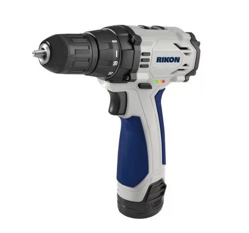 RIKON Power Tools 31-122 12v Li Cordless Drill/Impact Driver Combo Kit