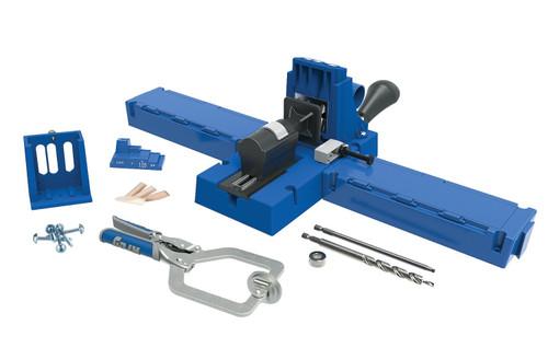 Kreg K5MS Jig + SK03 Essential Pocket Hole Screw Kit for Woodworking DIY