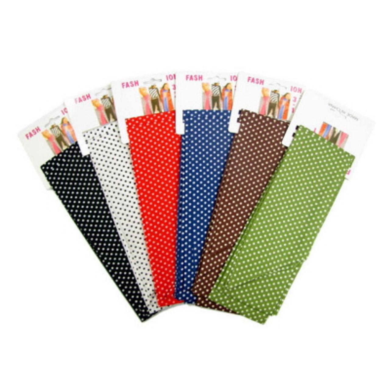 Assorted Color Polka-Dot Print Scarves SCARF66