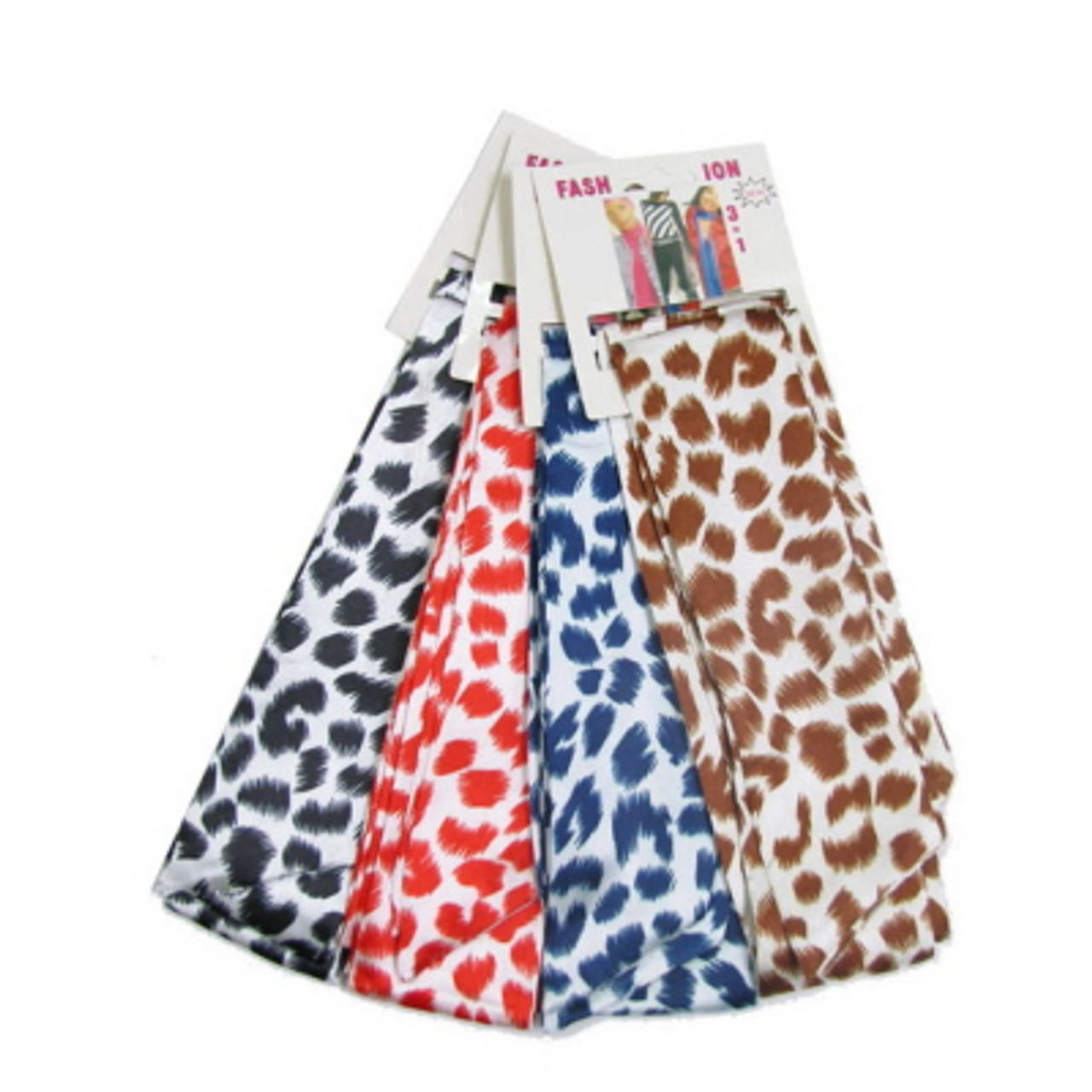 Assorted Color Animal Print Fashion Scarves SCARF73