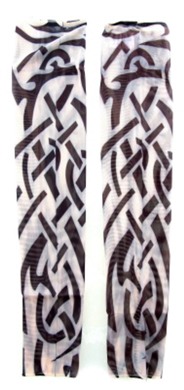 Wearable sleeve with tribal print tattoo design TTSL04